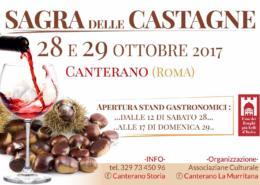 Locandina Castagna Canterano_Fuoriporta
