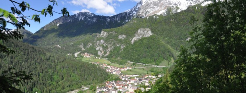 On these mountains there were the most important and bloody battles of the Great War. And so in 2008 the municipality of Forni Avoltri (Udine) decided to dedicate a permanent