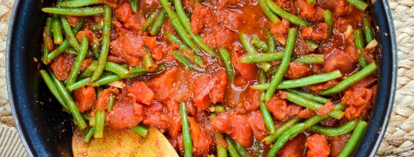 Pasta e fagiolini, i piatto veg di Mesagne