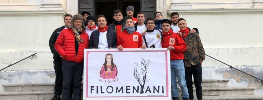 I Filomeniani, le tradizioni a Mugnano del Cardinale