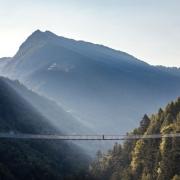 Sospesi tra i ponti in Val Tartano