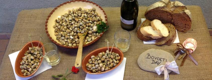 Bovoletti aglio e olio, la bontà estiva di Noale Fuoriporta