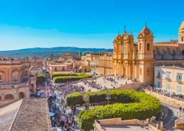 Noto, il viaggio nella Sicilia orientale