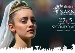 Narni, qui il medioevo rivive con la Corsa all'Anello – 27 agosto/5set